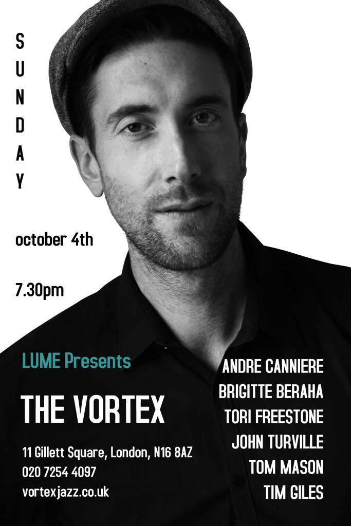 Andre Canniere at The Vortex - Oct 4th 2015