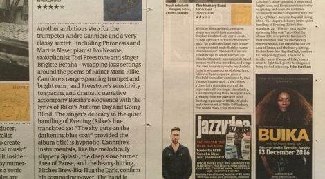 Guardian Review + JazzViews Album of the Week