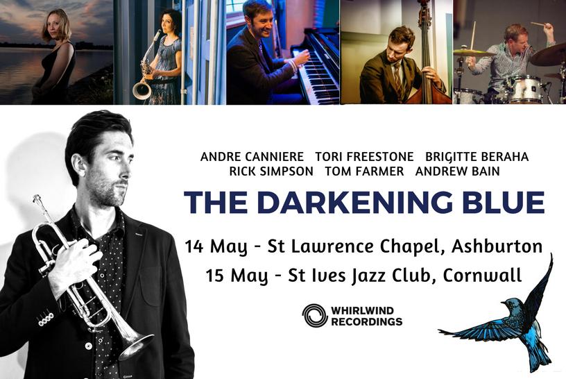 Darkening Blue in Cornwall and Devon